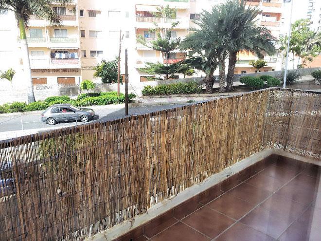 Terrasse vom neu renovierten Ferienapartment in Los Cristianos.