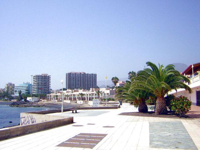Promenade Richtung Hafen