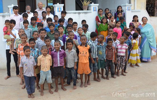 Tous nos petits TAMBI présents en août 2014
