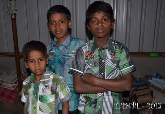 Koyilmani, Harigaran and Velou - Happy birthday - Jan. 2013