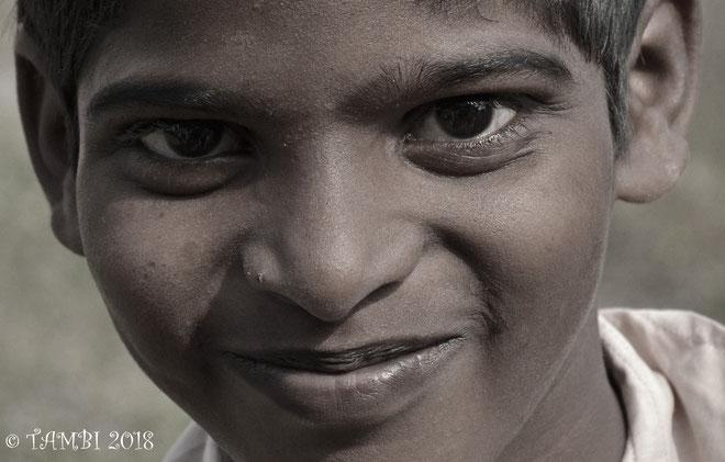 Sandosh, 12 ans, notre pensionnaire depuis 2 ans