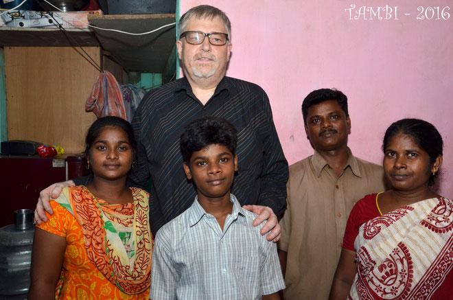 Août 2016 - Suresh et sa famille