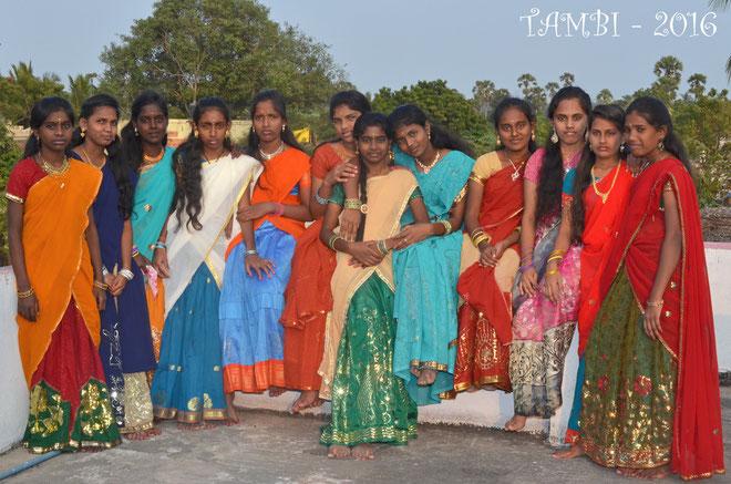 Les demoiselles de TAMBI - 2016