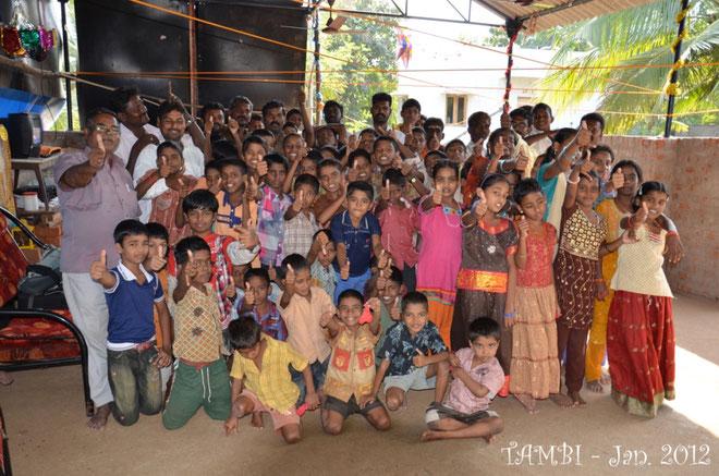 Les enfants de Thambi Illam