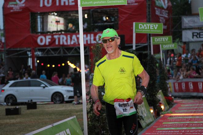 Herbert Graf finished beim Ironman in Roth über die Langdistanz
