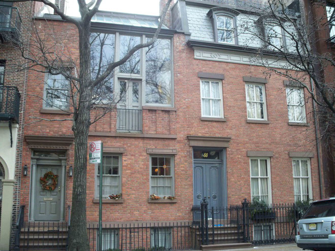 Stoke's home : 88 Grove Street, West Village, New York