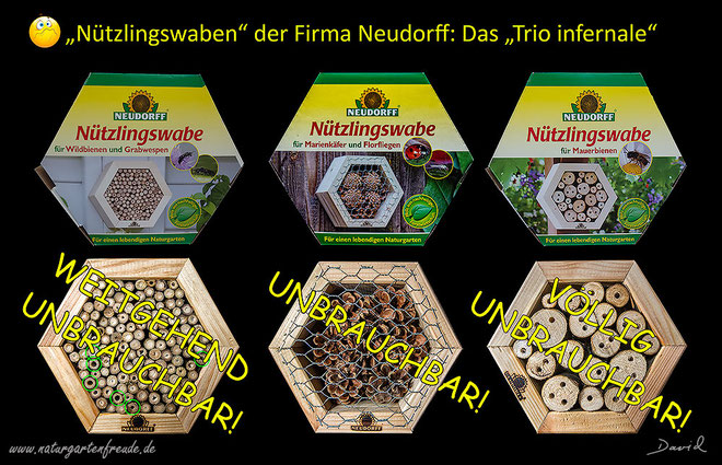 neudorff nisthilfen der besonderen art wildbienenschutz im naturgarten. Black Bedroom Furniture Sets. Home Design Ideas
