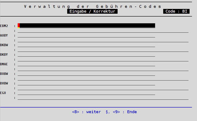 abasoft Praxissoftware Arztsoftware EVA Videosprechstunde Gebührenordnung QC-Code Barthelindes Barthel Index