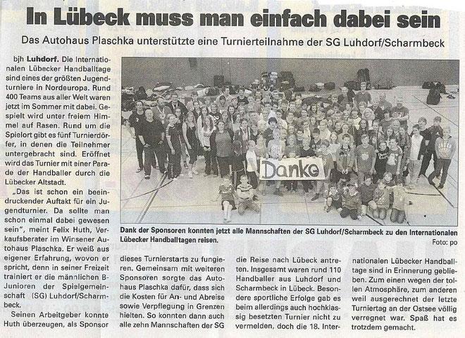SG Jugerndteams in Lübeck 22 -24.06.2012