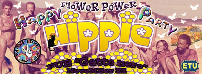 Giovedi' erasmus Gatto nero - Happy hippie party