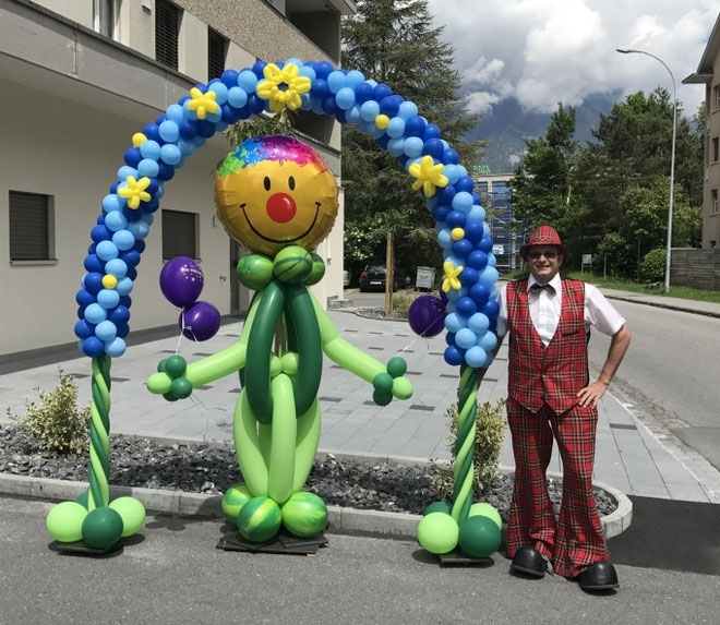 Schneemann, Berge, Mr. toni balloni