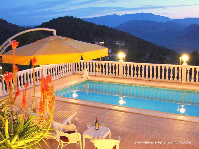 Ferienwohnung Valencia, Villa Gandia Hills, Pool, www.ferienwohnung-valencia.com