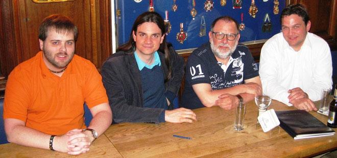 Gründungsmitglieder des ÖDP Kreisverband Städteregion Aachen mit Sebastian Frankenberger