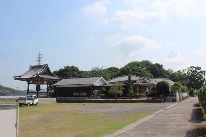 龍音寺周囲の風景写真です。