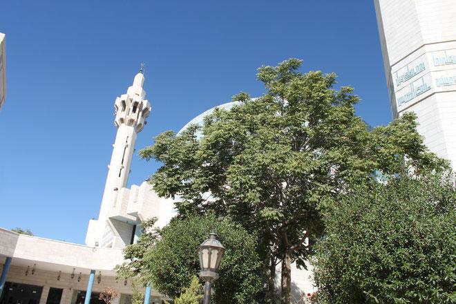 König Abdullah Moschee in Amman.