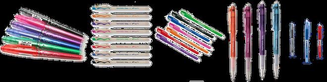Le penne cancellabili, usate dai più piccoli, vengono scelte con oculatezza e rigore!