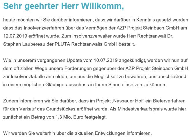 freaky finance, Zinsland, Projekt Nassauer Hof, Insolvenzverfahren, Projektdetails, Immobilien-Crowdinvesting