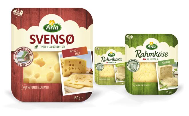 Arla - Käse - Skandinavien - Dänemark - Svenso - Rahmkäse - DesignKis  - Packaging - Design - 2014 - Verpackung