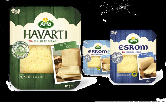 Arla -  Käse - Dänemark - Havarti - Esrom - DesignKis  - Packaging - Design - 2014 - Verpackung