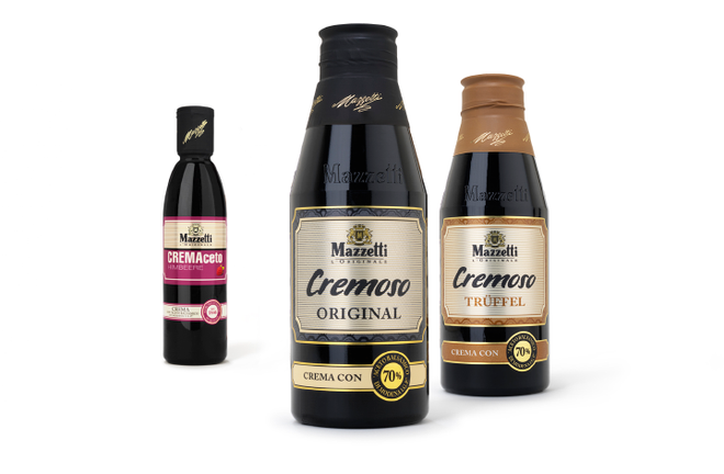 MAZETTI - Cremoso - Balsamico - Relaunch - Design - Packaging - DesignKis - 2011 - Verpackung