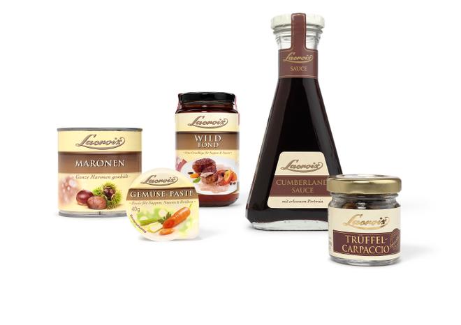 Lacroix - Feinkost - französisch - Premium - Relaunch - hochwertig - Design - Packaging - DesignKis - 2012  - Verpackung