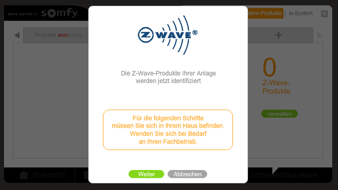 Somfy TaHoma Z-Wave kompatibel machen mit dem Smart Home Z-Wave USB Stick von Smart Home Hannover. Jetzt im Onlineshop für nur 159,- inkl. MwSt.