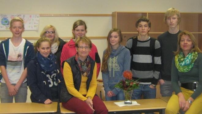 Informiert und Interessiert zeigten sich die Teilnehmer beim Vortrag der SkF-Mitarbeiterin. Foto: privat