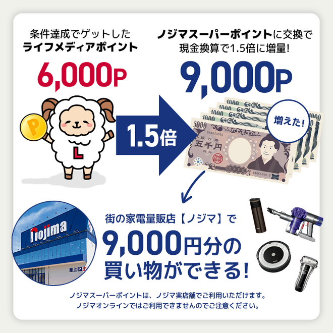 アンケートサイト比較一覧3位ライフメディアでノジ活すれば月収10万円