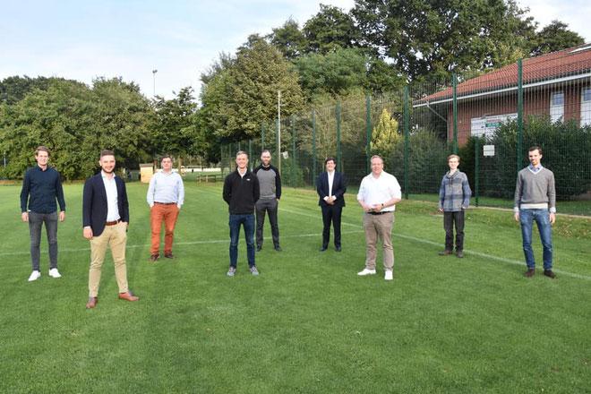 Die Teilnehmer der Gründungsversammlung der JU Garbsen (Quelle: JU Garbsen)