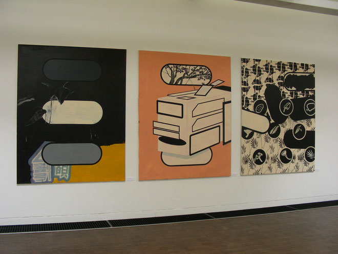 """Stills and Sounds"", Städtische Galerie Kubus, Hannover, 2008"