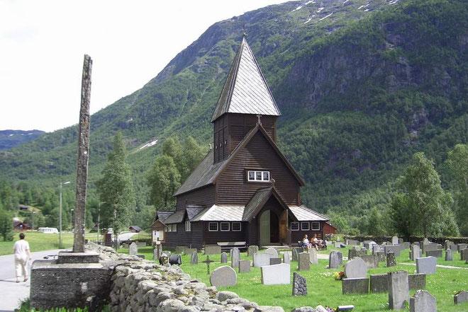Die Stabkirche von Roldal
