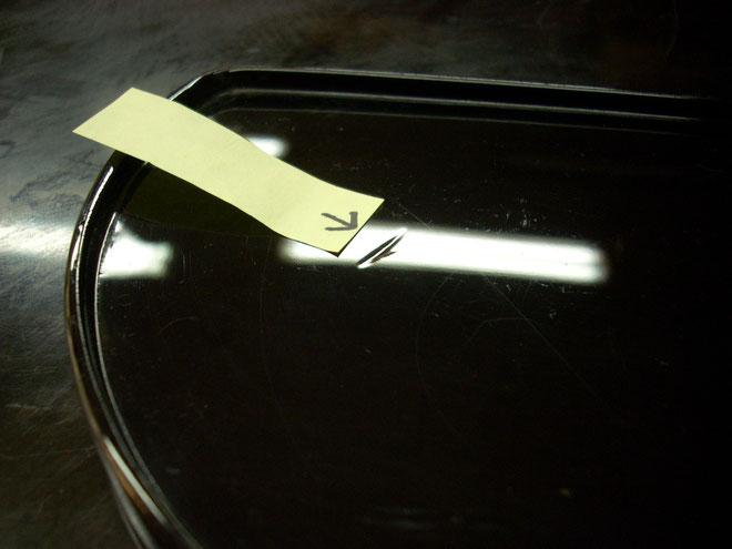 銘々皿の修理