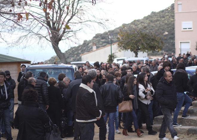 De Balagne et des quatre coins de l'île, ils étaient plus d'un millier à rendre un dernier hommage à André Francisci