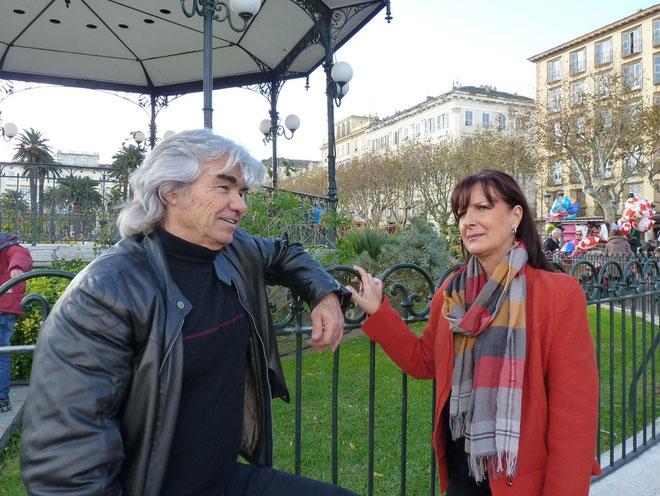 Daniel Guichard et Marie-Paule Houdemer : un double rendez-vous à Bastia