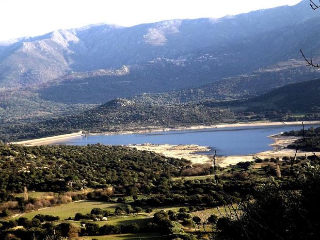 Le barrage de Codole est à son niveau de fin de saison estivale