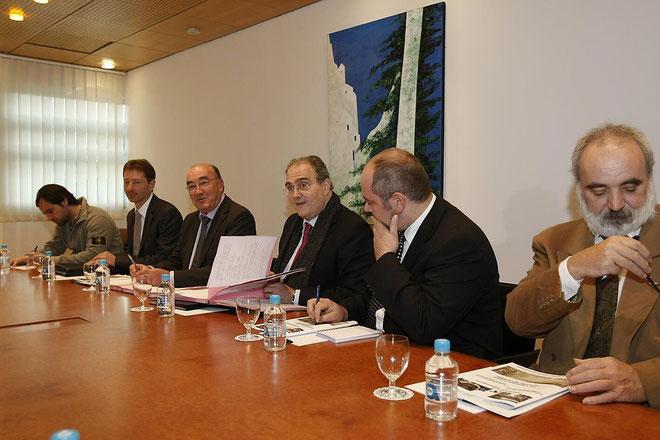 Paul Giacobbi au conseil général de Haute-Corse