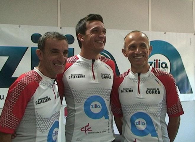Xavier Pierlovisi, Marc-Antoine Pierlovisi et Jean-Pierre Costa (Photos Jean-Paul Lottier)