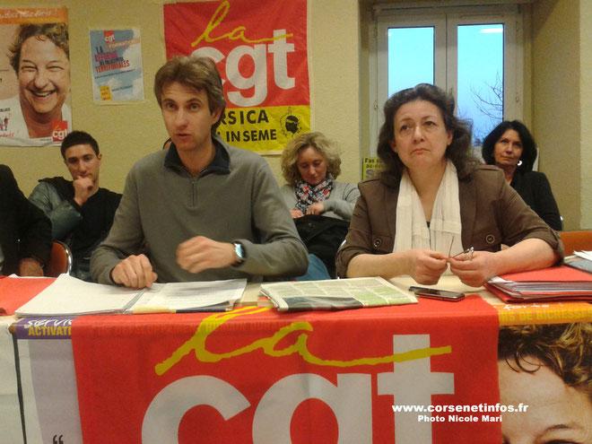 Frédéric Alpozzo jeudi après-midi à Bastia