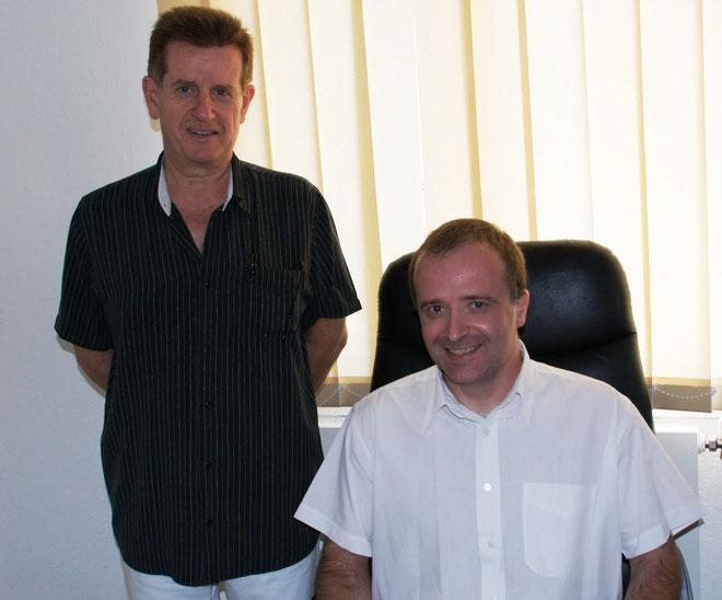 Jean-Claude Franceschi présente le nouveau directeur général de la Com Com de l'Oriente, Jean-Charles Savelli
