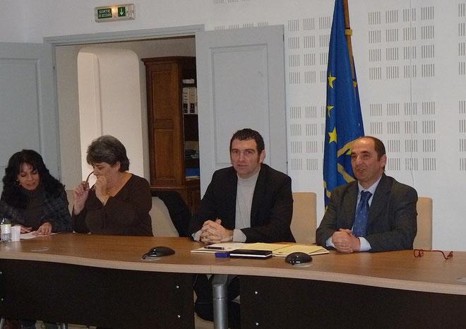 Le maire de Bonifacio Jean-Charles Orsucci et son homologue de Santa Teresa di Gallura, Stefano Hario Pisciottu, ont plaidé pour une continuité territorale Sardaigne-Corse