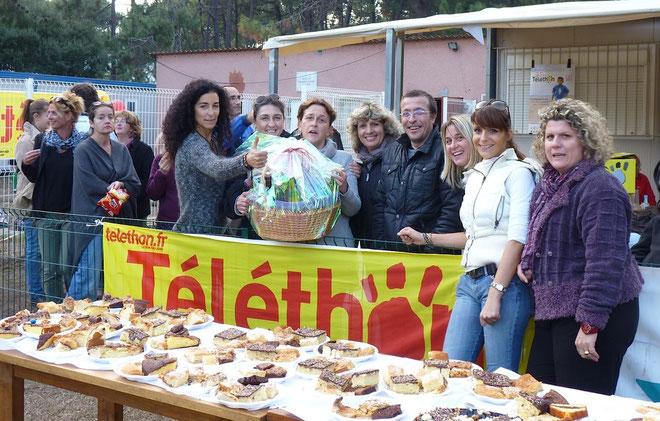 L'association des parents de l'école de rugby de Bastia XV a participé activement au succès de la journée