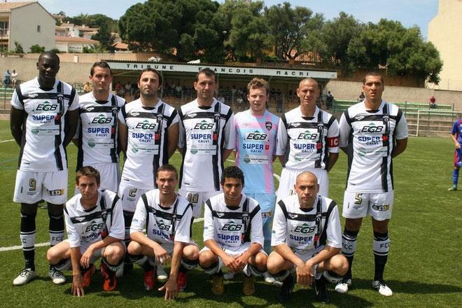 Le FC Calvi champion de CFA2 contre Fréjus. C'était le dernier match de niveau national au stade Faustin-Bartoli...
