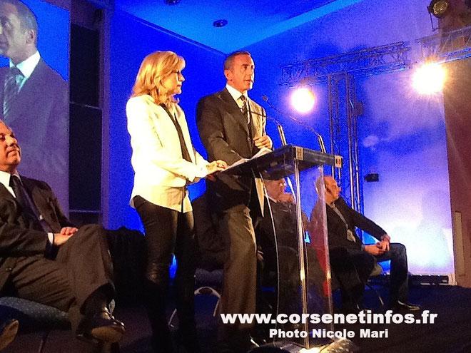 Marcel Francisci avec Stéphanie Grimaldi : Atteindre la barre des 30% en Corse pour Nicolas Sarkozy