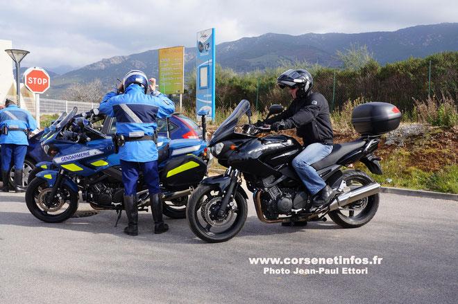 Une moto et un motard comme les autres, mais…