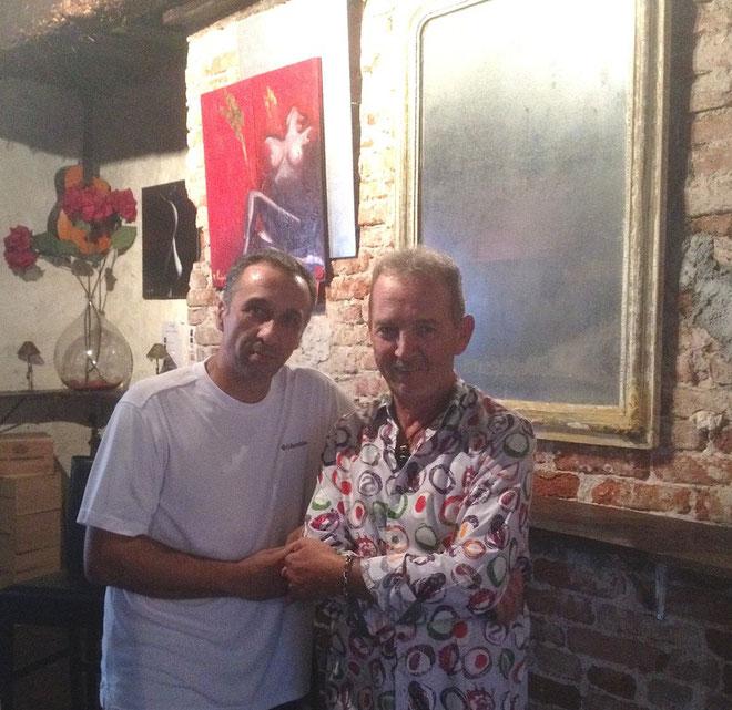 Christian Longinotti et Tony Padovani