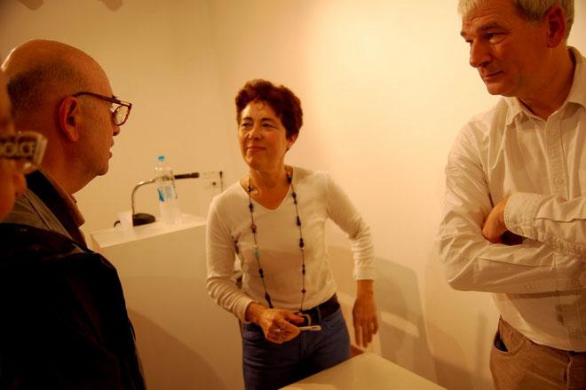Hélène Constanty à l'heure des dédicaces au Spaziu