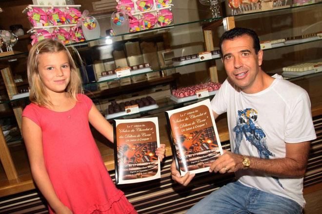 Grâce à Paul Pierinelli Bastia vivra au rythme du salon du chocolat pendant trois jours.