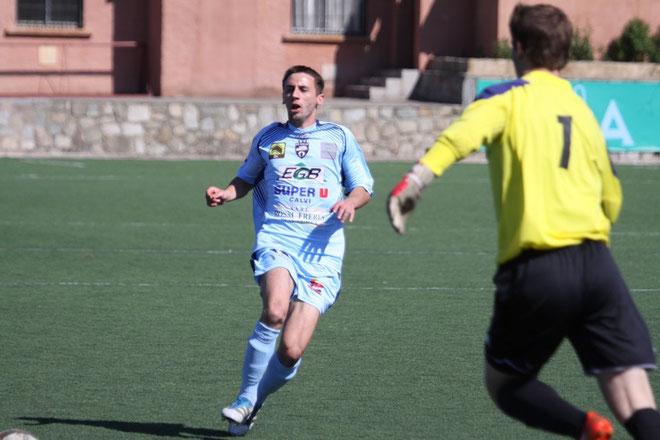 Giannone a scellé la victoire de Calvi