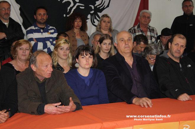 Paul Quastana (à gauche) et Paul Leonetti : Porter le message nationaliste