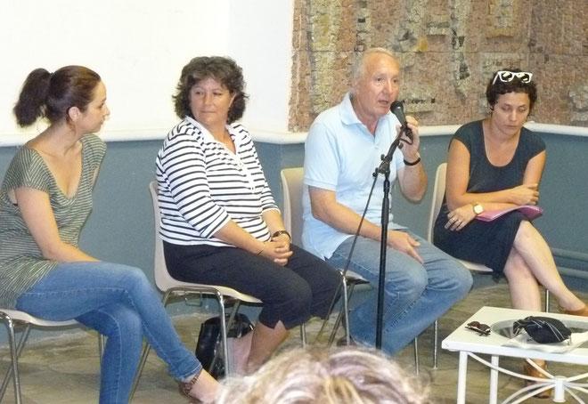 Delphine Ramos, Valérie Bascoul, Francis Riolacci et Frédérique Flori
